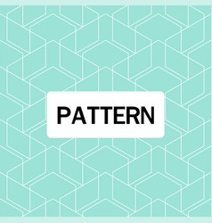 modern overlap hexagon pattern blue background vec vector image