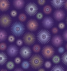Seamless background purple space vector