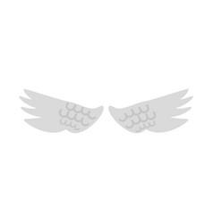 angels wings symbol vector image