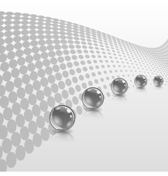 Concept with ball vector image vector image