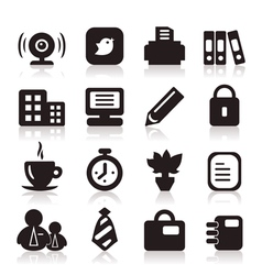 Office icons6 vector image