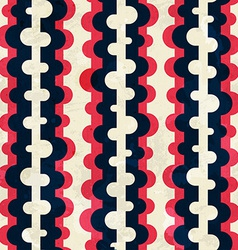 curved stripes seamless pattern vector image vector image