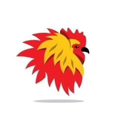 Cock Cartoon vector