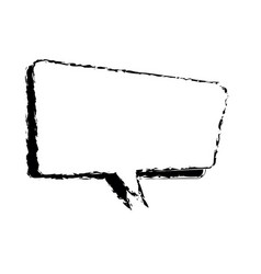 comic speech bubble talking sketch vector image