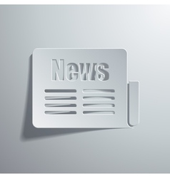 news vector image vector image