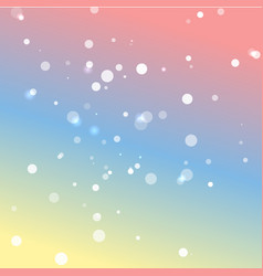 romantic pastel colors background vector image