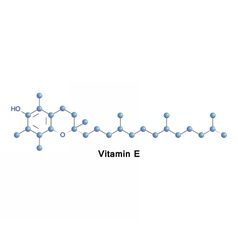 Vitamin E tocopherol vector