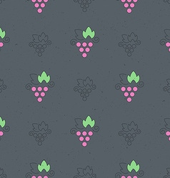 Wine Pattern vector image