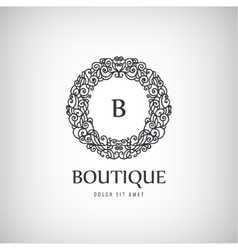 Luxury Vintage logo icon vector image vector image