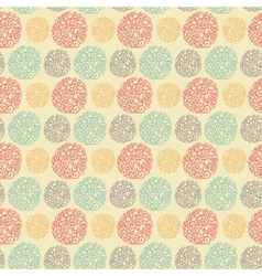 Seamless pattern with doodle texture vector image