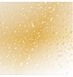 Abstract gold textured background vector