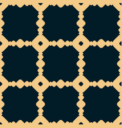 black and yellow geometric seamless pattern with vector image