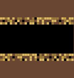 Graphic square color vector