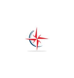 star compass logo vector image