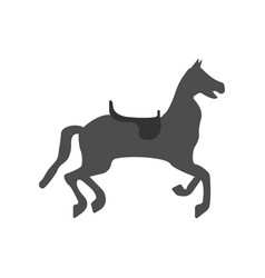 circus horse icon vector image vector image