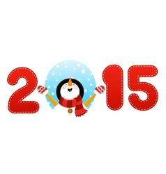 2015 snowman vector