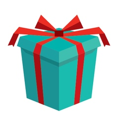 3d gift box icon vector