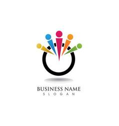 Adoption logo and symbols vector
