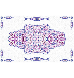 arabic ornate element vector image
