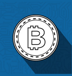 Electronic commerce with bitcoin vector