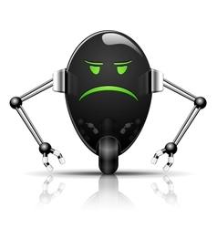 Evil Egg Robot vector