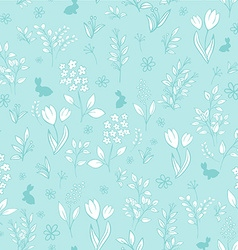 hand drawn floral seamless eastern pattern with vector image