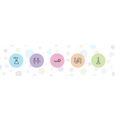 Pipe icons vector
