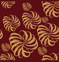 seamless pattern made brushp vector image