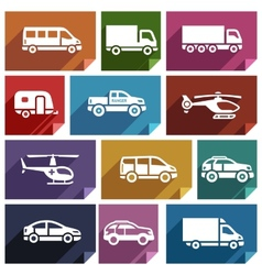 Transport flat icon-03 vector