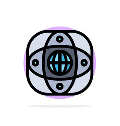 artificial connection earth global globe abstract vector image