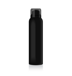 Blank deodorant spray for women or men vector
