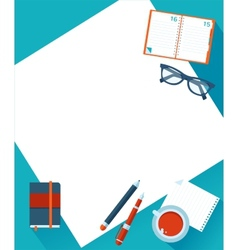 Business background with hands vector