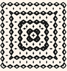 ethnic tribal geometric seamless pattern with vector image