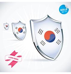 I Love Korea Flag vector