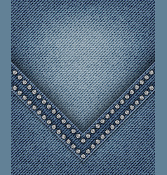 Jeans with angle vector