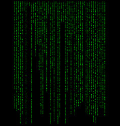 matrix digital background beautiful banner vector image