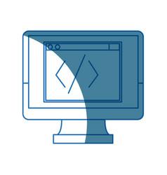 Monitor coding programming design graphic hardware vector