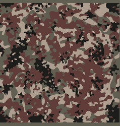 Multiterrain flectarn camouflage seamless patterns vector