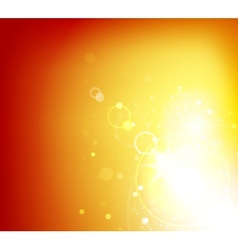 Abstract sunshine background vector image