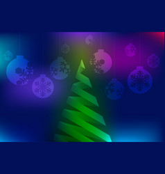 christmas colorful abstract background vector image vector image