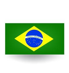 Brazilian Flag vector image