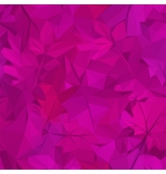 Autumn Leaves Low Poly vector