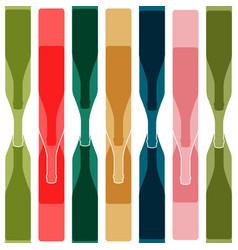 Background color bottle vector