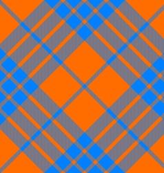 clan cameron tartan diagonal seamless pattern vector image