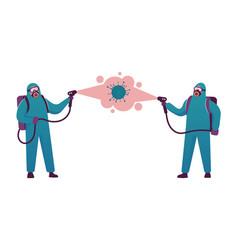 Coronavirus contamination disinfection human vector