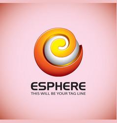 Creative logo template vector