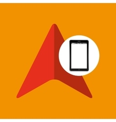 Cursor mobile phone navigation vector