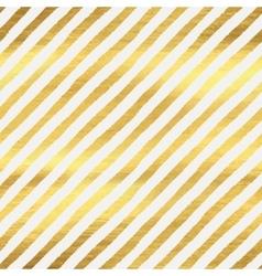 Geometric golden stripes seamless pattern vector image