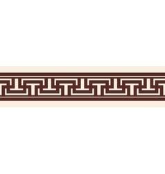 Greek style frame ornament vector