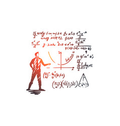 Mathematics education science school study vector